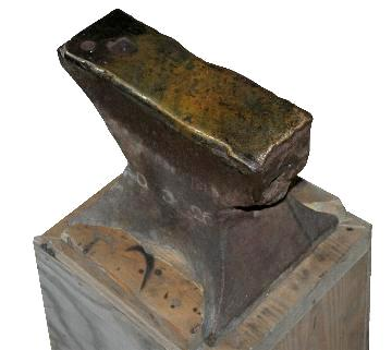 William Parker Pond Forge anvil - photo by Jock Dempsey