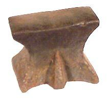 18th Century 5th Foot hornless anvil - photo (c) 2000 Jock Dempsey