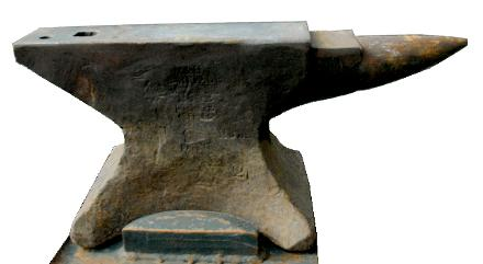 Mousehole anvil photo
