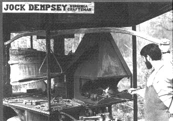Portable Shop in use. Photo by Jock Dempsey.