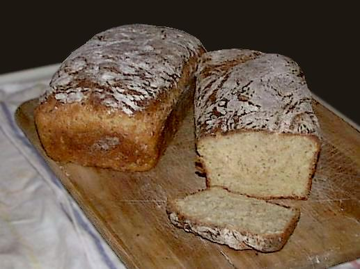 Fresh Oat Honey Wheat Christmas Bread - Photo and recipe from Jock Dempsey