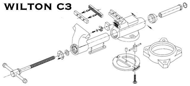 Wilton Bullet Vise Parts Diagram