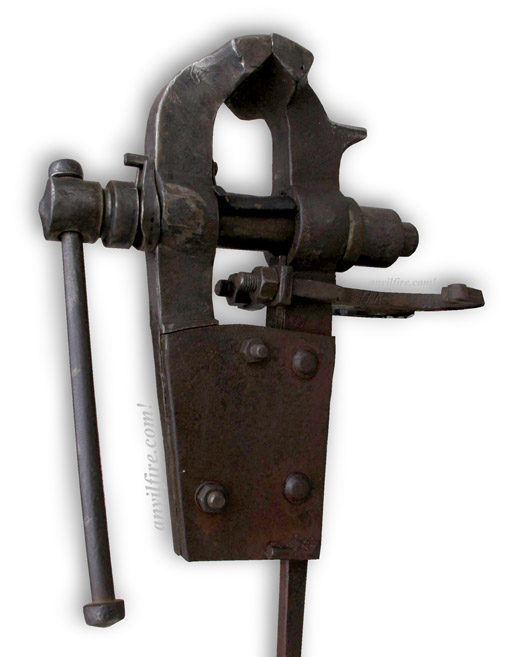 German Or Styrian Blacksmiths Vise